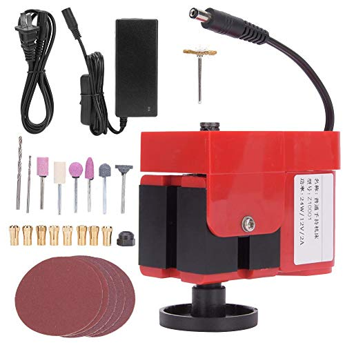 Find Cheap Acogedor DC12V Mini Hand-Held Lathe,20000RMP Mini Lathe for Wood,Mini Wood Lathe,DI...