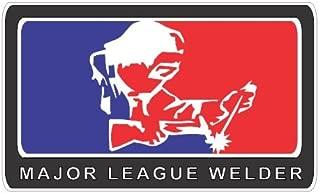 Slap-Art Major League Welder Vinyl Decals Bumper Stickers