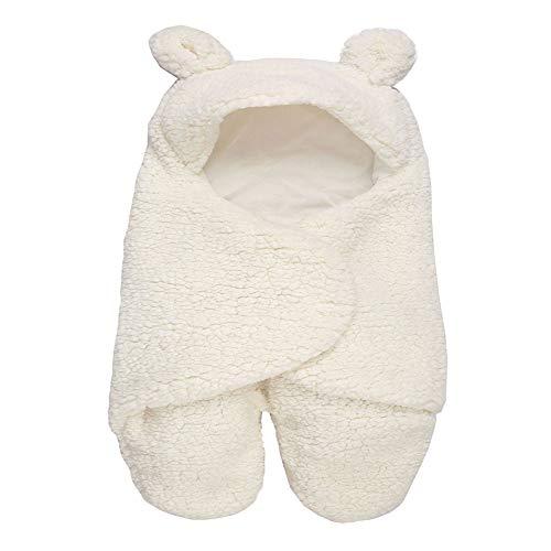 BABY Câlin, Coton de Cachemire d'agneau Chaud épais Nouveau-né pour bébé 0-3 Mois