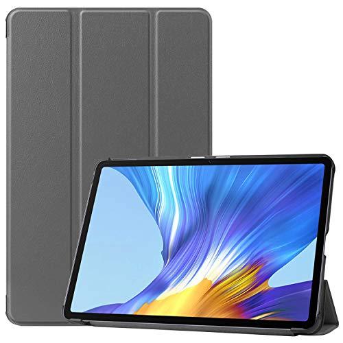 HoYiXi Custodia per Huawei MatePad 10.4 Pollici 2020 Ultra Slim Case in pelle Smart Cover con Supporto Funzione Custodia di Tablet per Huawei MatePad 10.4(BAH3-AL00 BAH3-W09)- grigio