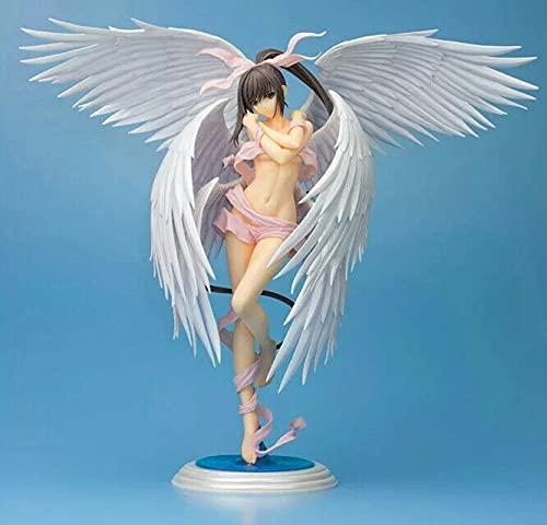 DDTETDY 30CM Edición Limitada Shining Ark Sakuya Seraph En Caja Mano para Hacer PVC Japón Anime Juego De Dibujos Animados Personaje Modelo Estatua Figura Juguete Coleccionables Decoraciones Regalos