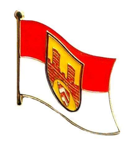 Flaggen Pin Bielefeld Fahne Flagge Anstecknadel