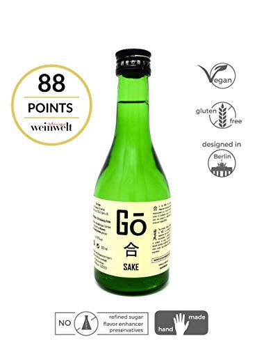 Go-Sake, Junmai Ginjo Craft Sake (300 ml)