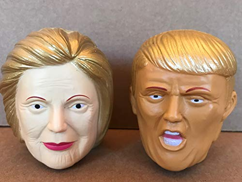 Political Necessities Trump and Clinton Stress Ball (2 Pack )