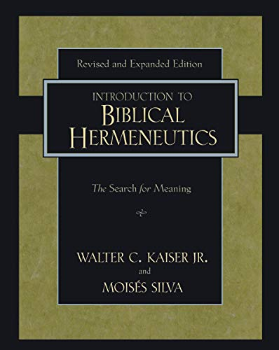 Image of Introduction to Biblical Hermeneutics: The Search for Meaning