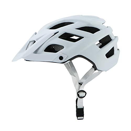 YuuHeeER 1PC Ciclismo Cascos de Bicicleta Offroad Deportes al aire libre Desarrollo Solar Visor Deriva Ergonomía Seguridad Adulto