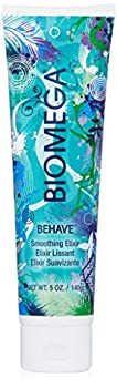 BIOMEGA Behave Smoothing Elixir 5 Oz Infused with Omega-Rich Emollients and Keratin Amino Acids that Smooth the Cuticle and Delivers Vital Moisture Keeps Color Vibrant