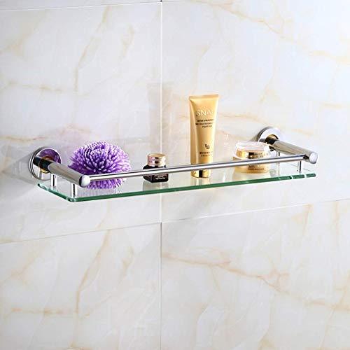 Badrum glasskåp hylla handdukshållare vägg handdukshållare Rack SUS 304 rostfritt stål dusch arrangör Caddy skruv tillbehör 6 17 (storlek: guld utan handdukshållare)