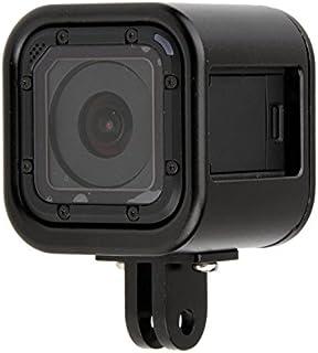 Gaoominy アルミニウム合金保護ハウジングケースカバーフレーム GoPro Hero 4/5セッション用Go Proスポーツアクションカメラアクセサリー ブラック