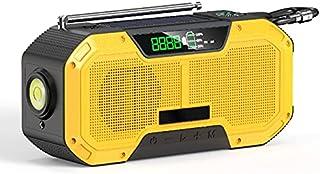 GJHK Éclairage De La Main De La Main De La Main d'urgence Portable Éclairage De L'éclairage Bluetooth Haut-Parleur Bluetoo...