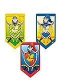 DISBACANAL Estandarte Escudo Medieval