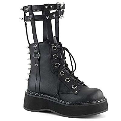 Demonia EMILY-357 Blk Vegan Leather UK 4 (EU 37)