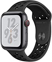 Apple Watch Nike Series 4 (GPS + Cellular, 40MM) - Space Gray Aluminum Case with Black Sport Band (Renewed)
