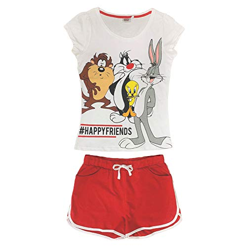Looney Tunes Pijama corto para mujer...