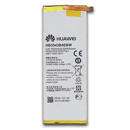 Original Akku für Huawei Ascend P7 Hb3543B4Ebw 2460 mAh Li-Ion Bulk