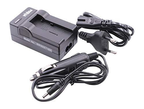 Cargador Cable DE Carga Fuente DE ALIMENTACIÓN Incl. Cargador Coche para Fuji FUJIFILM baterías Fuji NP-80