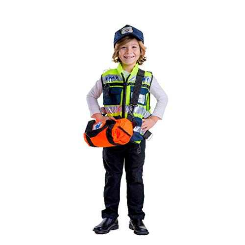 Dress Up America EMT Costume for Kids - Authentic Paramedic Costume Boys & Girls