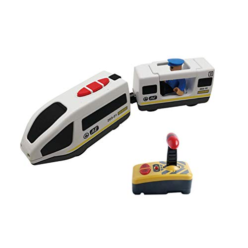 tanbea-ES Niño Tren Electrico Juguete de Modelismo Locomotora Motorizada Regalo de Cumpleaños Infantil