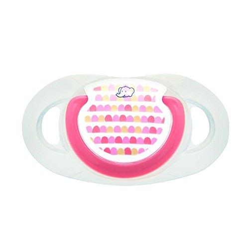 Bébé Confort Sucette Maternity Dental Safe en Silicone, Rose Little Valleys 18-36 Mois 2 Pièces