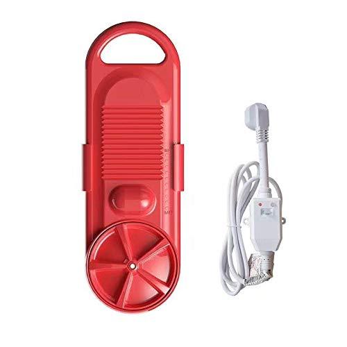 BYBYC Tragbare Mini-Waschmaschine Elektro Waschen Reinigungsgerät Studentenwohnheim Miete Zimmer Haushalt 110V / 220V,Rot,220v