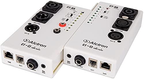 MWKL Probador de Cable de Audio Multiusos portátil y Conveniente CT-8 actualizado para el Accesorio de grabación y Rendimiento de Escenario de Cable de Diversidad