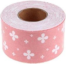 WEIGENG PVC afdichtingsstrip badkamer toilet keuken muur gootsteen tegel waterdichte schimmel tape winkelen (kleur: roze)