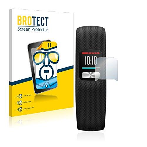 BROTECT Schutzfolie kompatibel mit Garmin Vivofit 4 (2 Stück) klare Bildschirmschutz-Folie