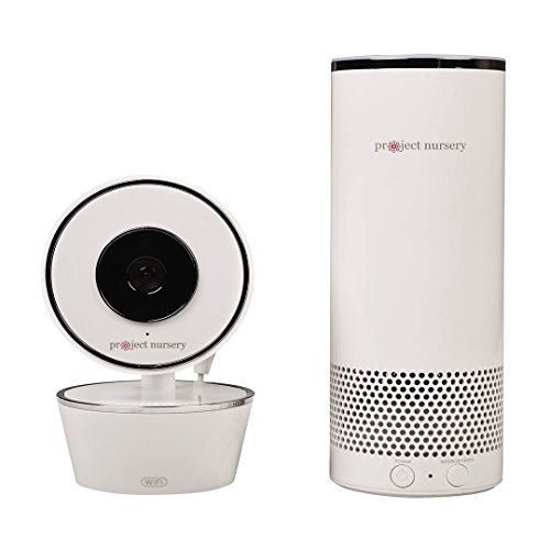 Project Nursery Smart Speaker with Amazon Alexa and Smart Baby Monitor Camera System