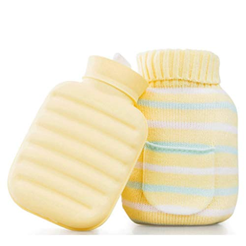 Best Price Silicone Hot Water Bottle Water Injection Mini Small Explosion-Proof Cute Hand Warmers (C...