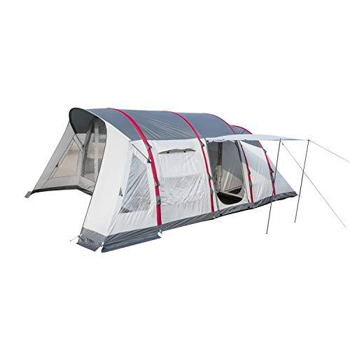 Bestway Pavillo Zelt Sierra Ridge X6 Zelt 640x390x225 cm, aufblasbares Luftzelt mit Vordach, Familienzelt für 6 Personen