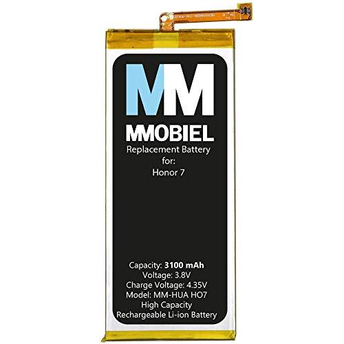 MMOBIEL Batería de Repuesto Compatible con Huawei Honor 7 HB494590EBC 3100mAh
