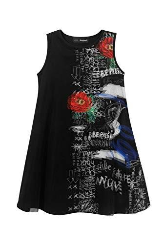 Desigual Vest_Grace Vestimenta Casual, Black, 11/12/2020 para Niñas