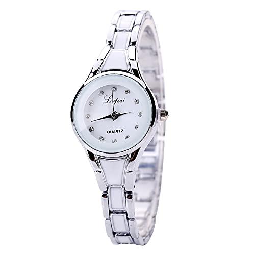 Montloxs Reloj de Cuarzo de Moda Reloj de Pulsera para Mujer Reloj de Pulsera para Mujer