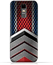 Infinix Note 3 X601 TPU Silicone Protective Case with Geometric Mesh Pattern Design