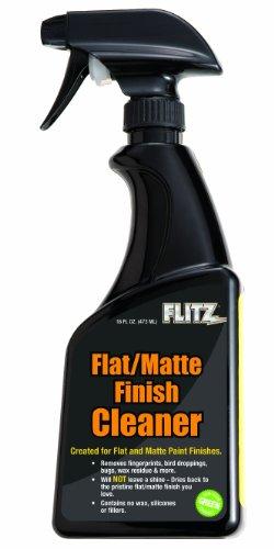 Flitz FM 11506 Flat Matte Finish Cleaner, 16 oz. Spray Bottle