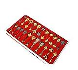 Cosplay Accessoires Fairy Tail Porte-clés 22pcs Pendentif Pour Collection Décoration