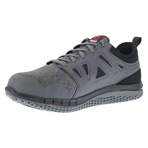 Reebok Work Men s Zprint Safety Toe Athletic Work Shoe, Dark Grey, 10.5