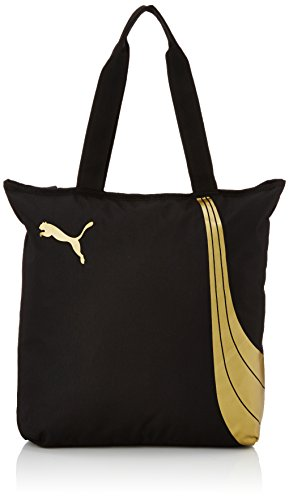 Puma Fundamentals Shopper Borsa, Nero, Taglia Unica