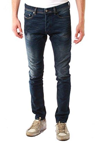 Diesel Tepphar-00ckri-0853r-29 Jeans Slim, Blu (Azul Oscuro 0853R), 50 (Taglia Produttore: 29) Uomo