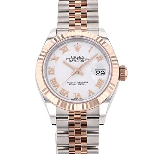 ロレックス ROLEX デイトジャスト 28 279171 ホワイトローマ文字盤 腕時計 レディース (W203442) [並行輸入品]