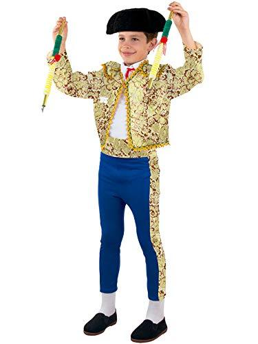 DISBACANAL Disfraz de torero para niño - 4 añ