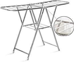 Clothes Rack Clothes Drying Racks, Multifunction Balcony Outdoor Clothes Rack Collapsible Portable Home Towel Drying Rack ...
