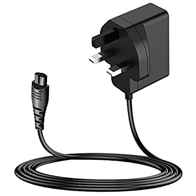 MEROM 3.8V Razor Charger Power Supply Compatible with Remington Shaver Power Cord Adapter for Remington Trimmer PR1235, F4900, PF7200, F-3790, FF-400, R-305, R-4110, R-4130, R-4150 Chargering Cord by MEROM