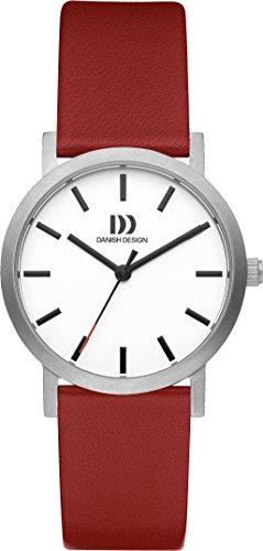 Danish Design Unisex-Armbanduhr DANISH DESIGN IV19Q1108 Analog Quarz Leder IV19Q1108