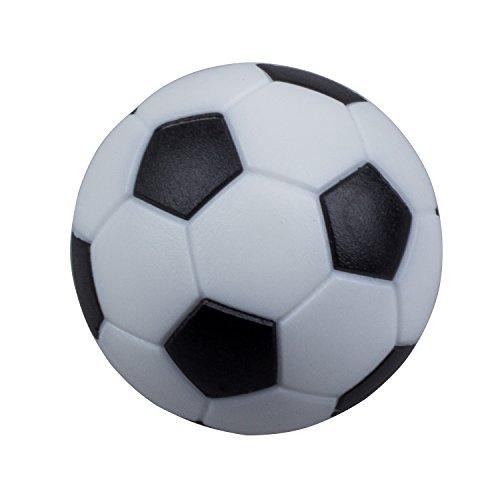 TOOGOO 4pcs de 32mm Mesa de Futbol de plastico Pelota de Foosball Bola de futbolin