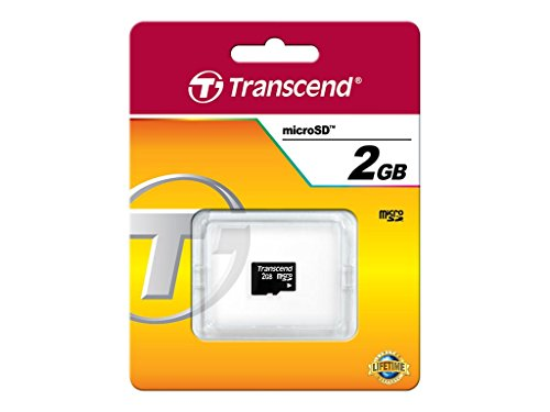Transcend Micro SD 2GB geheugenkaart