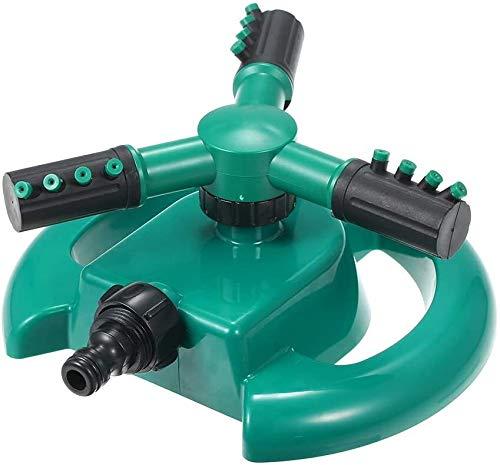 Jardinería Herramientas automáticas de 360 grados de rotación de rociadores de agua ajustables 3-brazos de riego del césped de fugas diseño libre Sistema de riego de jardinería (Size : Style 1)