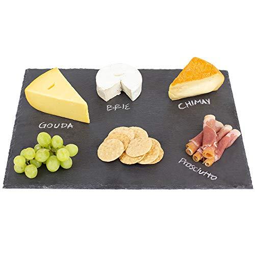 Black Modern Slate Cheese Board