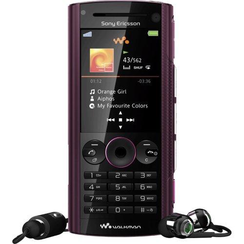 Sony Ericsson W902 Wine red Handy