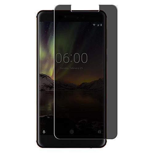 Vaxson Protector de Pantalla de Privacidad, compatible con Nokia 6 II 2018 NOKIA 6.1 [no vidrio templado] TPU Película Protectora Anti Espía